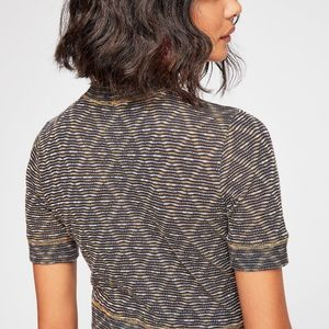 Intimately FP All Yours Seamless Crop Top Tee L